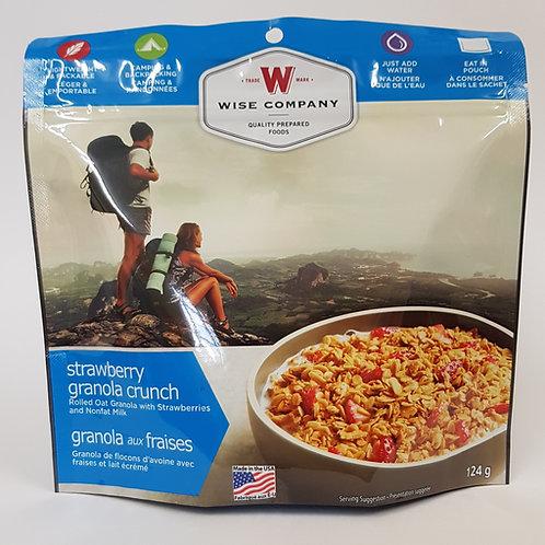 Wise Company Strawberry Granola Crunch