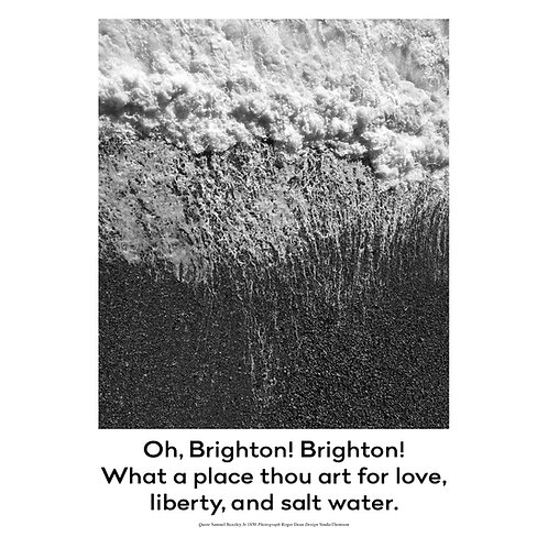 Brighton Poster Print