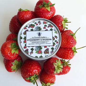strawberry and rhubarb