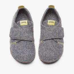 CAMPER Grey WABI SLIPPERS