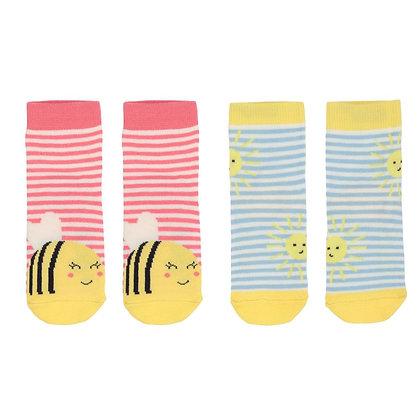 JOULES bamboo socks BEE&SUN 2 pairs