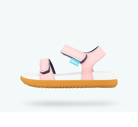 NATIVE CHARLEY Princess Pink/ Shell White/ Toffee Brown