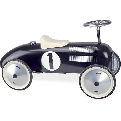 Ride On - Car, Vintage black  Porteur Voiture Vintage noir By Vilac