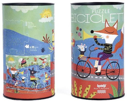 Puzzle - Bicicletta By Londji & Mariana Ruiz Johnson.