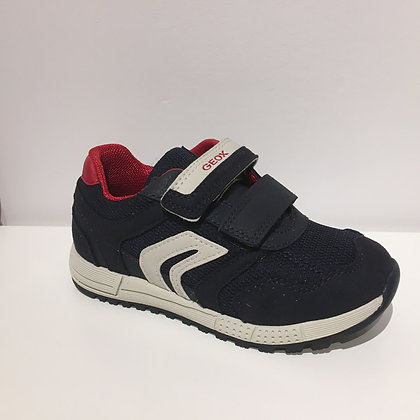 GEOX ALBEN NAVY/RED