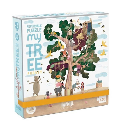 Pocket Puzzle - My Tree 100pc By Londji & Txell Darne.