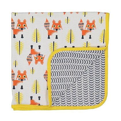 Coq en Pate - Fox Blanket 100% ORGANIC COTTON