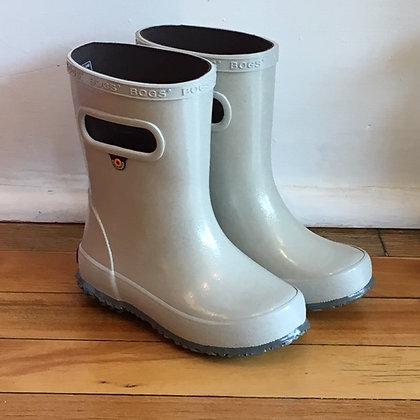BOGS rainboot glitter / silver