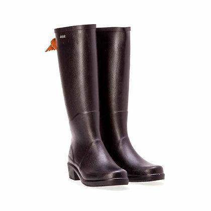 AIGLE Miss Juliette A Rubber Boots  Black