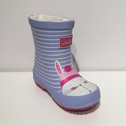 JOULES BABY WELLY BLUE RABBIT