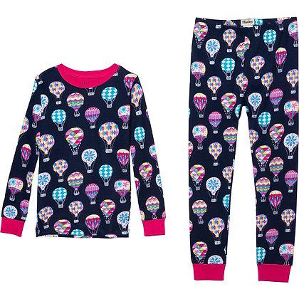 HATLEY CUTE HOT AIR BALOONS ORGANIC COTTON Pajama Set