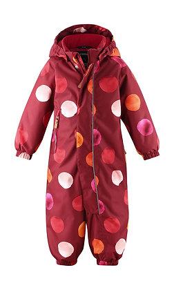 REIMA Toddlers' winter snowsuit Puhuri DARK RED
