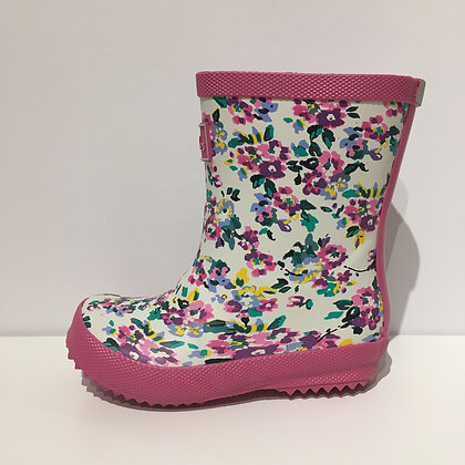 JOULES BABY WELLY FLOWERS