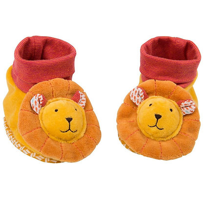 Baby slippers Lion