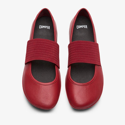 CAMPER RED BALLERINAS FOR WOMEN