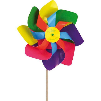 Pinwheel with wooden handle by VILAC