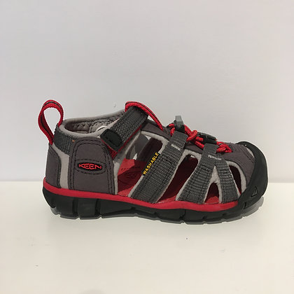 KEEN TODDLERS' SEACAMP II CNX GREY/RED
