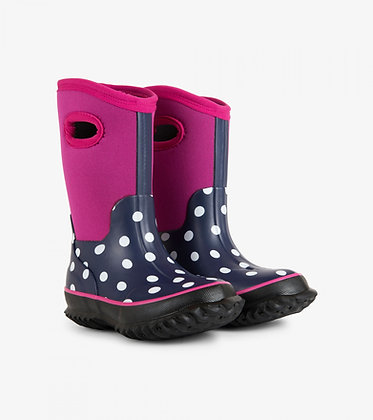 HATLEY Polka Dots All Weather Boots
