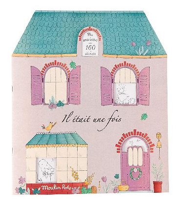 Il Etait une Fois - sticker book By Moulin Roty