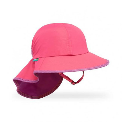SUNDAY AFTERNOONS KIDS' PLAY HAT HOT PINK
