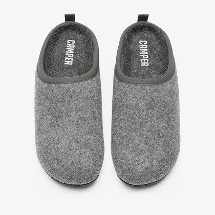CAMPER Wabi Grey Slippers for Women