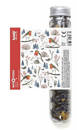 Micropuzzle - Robins  By Londji & Nathalie Ouederni