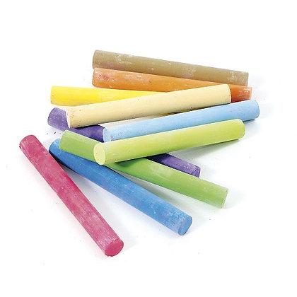 Chalk - Coloured 10 pcs by jeujura