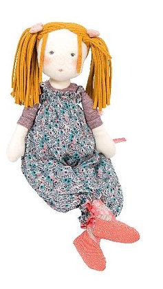 Les Rosalies - Violette Rag Doll (45cm) By Moulin Roty & Cécile Blindermann