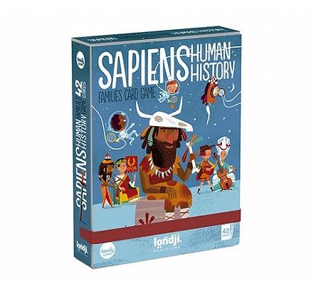 Cards - Sapiens, Human History By Londji & Sebastia Serra