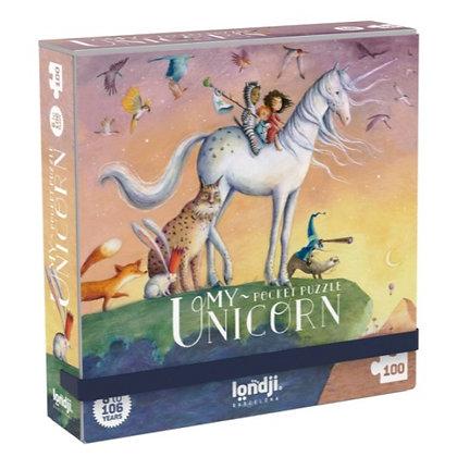 Pocket Puzzle - My Unicorn 100pc By Londji & Sonja Wimmer