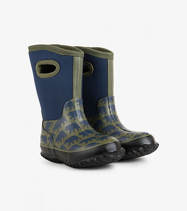 HATLEY Black Bears All Weather Boots