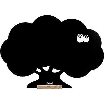 Blackboard - Mural Board Tree By jeujura