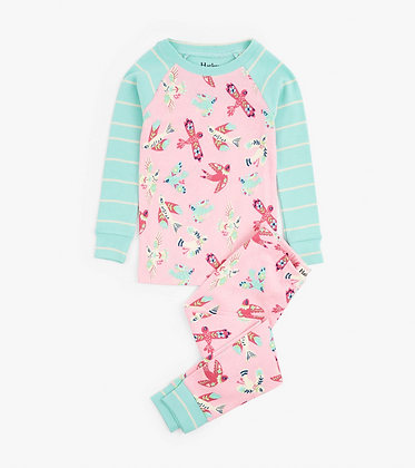 HATLEY SOARING BIRDIES ORGANIC COTTON Pajama Set