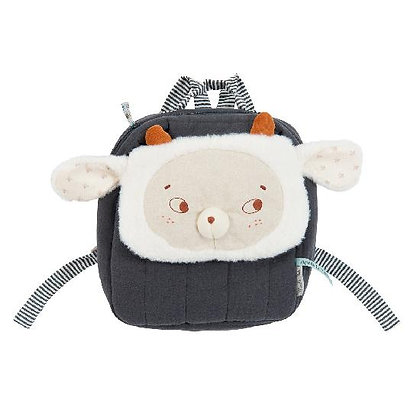 Apres la Pluie - Nuage Sheep Backpack By Moulin Roty & Lucile Michieli