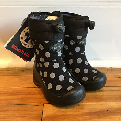 KUOMA boots / black dots