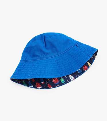 HATLEY Reversible Sun Hat distressed buoys