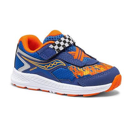 SAUCONY Ride 10 Jr. Sneaker BLUE FLAME