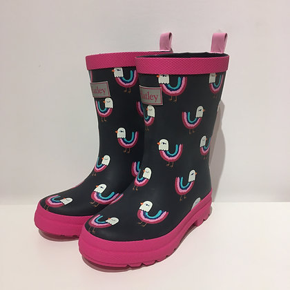 HATLEY Rain Boot RAINBOW BIRDS