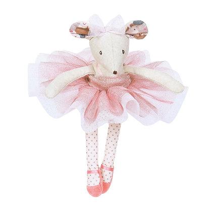 Il Etait une Fois - ballerina mouse doll (16 cm) By Moulin Roty