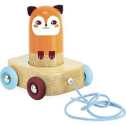 Pull Toy, Fox By Vilac