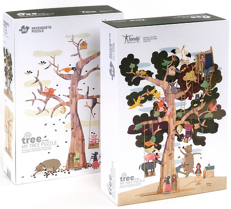 Puzzle - My Tree  By Txell Darne & Londji