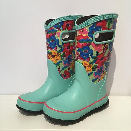 BOGS rain boots TURQUOISE MULTI