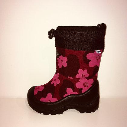 KUOMA SNOWLOCK BORDEAUX FLOWERS