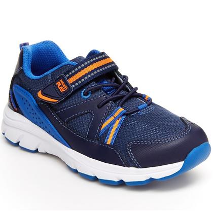 STRIDE RITE made2play® journey sneaker BLUE/ORANGE