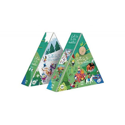 Puzzle - Let's Go To the Mountains  By Londji & Mariana Ruiz Johnson