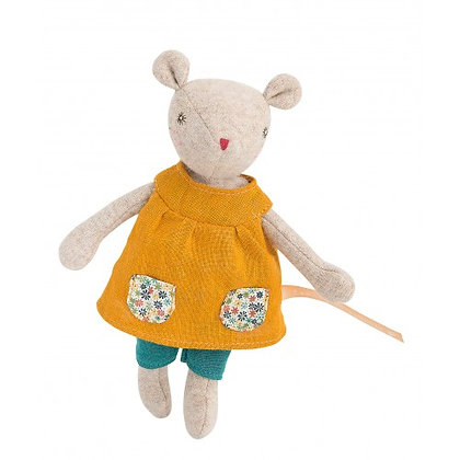 Famille Mirabelle - Groseille the Tiny Mouse (19 cm) By Moulin Roty