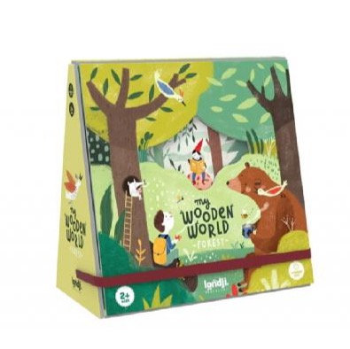My Wooden World Forest By Londji