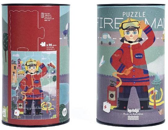 Puzzle - Fireman By Londji & Àfrica Fanlo.