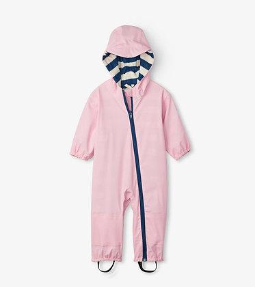 HATLEY Pink Terry Lined Baby Bundler