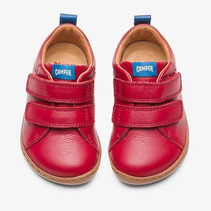 CAMPER Red velcro sneaker